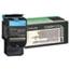 Lexmark™ C540H1CG High-Yield Toner, 2000 Page-Yield, Cyan Thumbnail 1