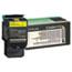 Lexmark™ C540H1YG High-Yield Toner, 2000 Page-Yield, Yellow Thumbnail 1