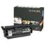 Lexmark™ X654X11A Extra High-Yield Return Prgm Toner, 36000 Pg-Yld, Black Thumbnail 1