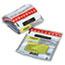 MMF Industries™ Tamper-Evident Deposit/Cash Bags, Plastic, 9 x 12, White, 100 Bags/Box Thumbnail 1