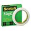 "Scotch™ Magic Office Tape, 1/2"" x 72 yards, 3"" Core, Clear Thumbnail 1"