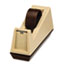 """Scotch™ Heavy-Duty Weighted Desktop Tape Dispenser, 3"""" Core, Plastic, Putty/Brown Thumbnail 3"""