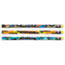 Moon Products Decorated Pencil, Race to Success!, HB, 2.1 mm, Assorted, Black, Dozen Thumbnail 1