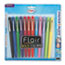 Paper Mate® Flair Felt Tip Marker Pen, Assorted Ink, Medium, Dozen Thumbnail 1