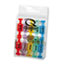 Quartet® Magnetic Push Pins for Magnetic Planning Boards, Assorted Colors, 20/Pack Thumbnail 2