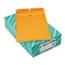 Quality Park™ Clasp Envelope, 10 x 15, 32lb, Brown Kraft, 100/Box Thumbnail 1