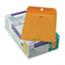 Quality Park™ Clasp Envelope, 7 1/2 x 10 1/2, 28lb, Brown Kraft, 100/Box Thumbnail 1