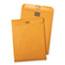 Quality Park™ 9 x 12 Postage Saving ClearClasp Envelopes, Reusable Redi-Tac™ Closure, 28 lb. Brown Kraft, 100/BX Thumbnail 1