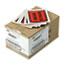 Quality Park™ Full-Print Self-Adhesive Packing List Envelope, Orange, 5 1/2 x 4 1/2, 1000/Box Thumbnail 1