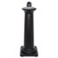 Rubbermaid® Commercial GroundsKeeper Tuscan Receptacle, 13 x 13 x 38 3/8, Black Thumbnail 1