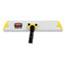 Rubbermaid® Commercial HYGEN™ HYGEN Quick Connect S-S Frame, Wet/Dry Mop 18w x 3 1/2d, Aluminum, Yellow Thumbnail 2