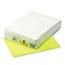 Pacon® Kaleidoscope Multipurpose Colored Paper, 24lb, 8-1/2 x 11, Hyper Yellow, 500/Rm Thumbnail 1