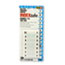 Redi-Tag® Side-Mount Self-Stick Plastic Index Tabs Nos 1-10, 1 inch, White, 104/Pack Thumbnail 1