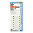 Redi-Tag® Side-Mount Self-Stick Plastic Index Tabs Nos 11-20, 1 inch, White, 104/Pack Thumbnail 1