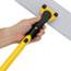 Rubbermaid® Commercial HYGEN™ HYGEN Quick Connect S-S Frame, Wet/Dry Mop 18w x 3 1/2d, Aluminum, Yellow Thumbnail 4