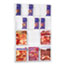 Safco® Reveal Clear Literature Displays, 18 Compartments, 30w x 2d x 45h, Clear Thumbnail 1