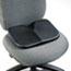 Safco® Softspot Seat Cushion, 15-1/2w x 10d x 3h, Black Thumbnail 1