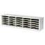 Safco® E-Z Sort Steel Mail Sorter Module, Light Gray Steel Thumbnail 1