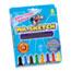 Mr. Sketch® Scented Watercolor Marker, Chisel Tip, 8 Colors, 8/Set Thumbnail 1