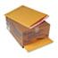 Sealed Air Jiffylite Self-Seal Mailer, Side Seam, #7, 14 1/4 x 20, Golden Brown, 25/Carton Thumbnail 1