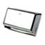 San Jamar® Mini C-Fold/Multifold Towel Dispenser, Chrome, 11 1/8 x 3 7/8 x 7 7/8 Thumbnail 2