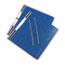 "ACCO® PRESSTEX Covers w/Storage Hooks, 6"" Cap, Dark Blue Thumbnail 2"