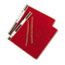 "ACCO® PRESSTEX Covers w/Storage Hooks, 6"" Cap, Executive Red Thumbnail 2"