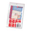 Smead® Alpha-Z Color-Coded Second Letter Labels, Letter A, Red, 100/Pack Thumbnail 2