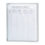 Smead® Poly String & Button Envelope, 9 3/4 x 11 5/8 x 1 1/4, Clear, 5/Pack Thumbnail 1