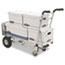 """Cosco® 3-in-1 Convertible Truck, 800-1000lb Cap., 21.06""""w x 21.85""""d x 48.03""""h, Aluminum Thumbnail 2"""