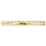 "Westcott® Wood Ruler with Single Metal Edge, 12"" Thumbnail 3"