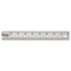 "Westcott® Stainless Steel Office Ruler With Non Slip Cork Base, 18"" Thumbnail 2"
