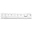 "Westcott® See Through Acrylic Ruler, 18"", Clear Thumbnail 2"