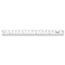 "Westcott® See Through Acrylic Ruler, 18"", Clear Thumbnail 3"