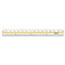 "Westcott® Acrylic Data Highlight Reading Ruler With Tinted Guide, 15"" Clear Thumbnail 3"