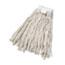 Boardwalk® Cut-End Wet Mop Head, Cotton, No. 24, White Thumbnail 1