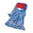 "Boardwalk® Super Loop Wet Mop Head, Cotton/Synthetic Fiber, 5"" Headband, Large Size, Blue Thumbnail 1"