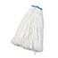 UNISAN Cut-End Lie-Flat Wet Mop Head, Rayon, 24oz, White, 12/Carton Thumbnail 1