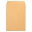 Universal® Catalog Envelope, #10 1/2, Square Flap, Gummed Closure, 9 x 12, Brown Kraft, 250/Box Thumbnail 2