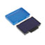 Identity Group T5440 Dater Replacement Ink Pad, 1 1/8 x 2, Blue Thumbnail 2