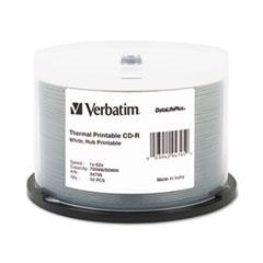 VER 94755 Verbatim CD-R DataLifePlus Printable Recordable Disc VER94755