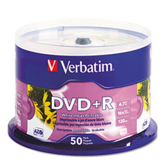 VER 95136 Verbatim DVD+R Recordable Disc VER95136