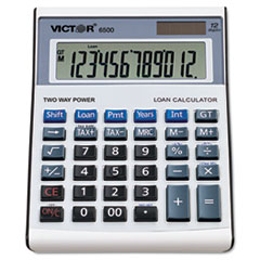 VCT 6500 Victor 6500 Executive Desktop Loan Calculator VCT6500