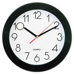 UNV 10421 Universal Bold Round Wall Clock UNV10421