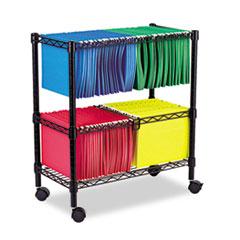 ALE FW601426BL Alera Rolling File Cart ALEFW601426BL