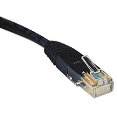 TRP N002025BK Tripp Lite CAT5e Molded Patch Cable TRPN002025BK