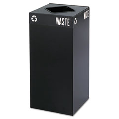 SAF 2982BL Safco Mayline Public Square Recycling Receptacles SAF2982BL