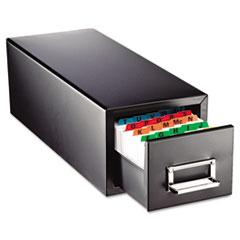 MMF 263F5816SBLA SteelMaster Drawer Card Cabinet MMF263F5816SBLA
