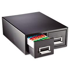 MMF 263F6916DBLA SteelMaster Drawer Card Cabinet MMF263F6916DBLA