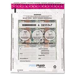 MMF 236210420 MMF Industries FREEZFraud Tamper-Evident Deposit Bags MMF236210420